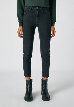 PULL&BEAR - Jeans Slim Fit - black