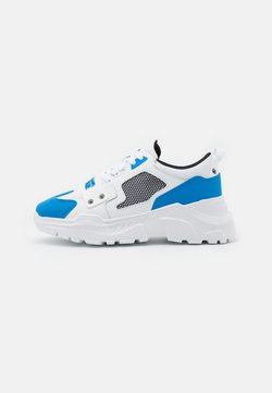 Versace Jeans Couture - Sneakers laag - white/blue