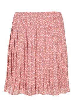 Hollister Co. - PLEATED SKIRT - A-line skirt - pink