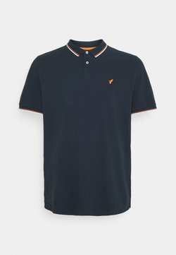 Pier One - Polo - dark blue/orange