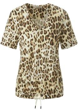 MARGITTES - T-Shirt print - beige/braun