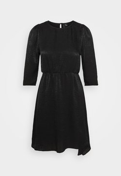 Vero Moda Tall - VMJENICE SHORT DRESS - Korte jurk - black