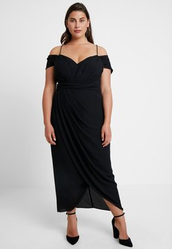 City Chic - EXLUSIVE ENTWINE DRESS - Cocktail dress / Party dress - black