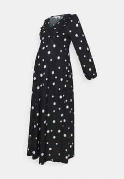 Dorothy Perkins Maternity - FOCHETTE MIDI DRESS - Jerseykleid - black