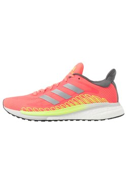 adidas Performance - SOLAR GLIDE ST 3  - Zapatillas de running estables - signal pink/silver metallic/signal green