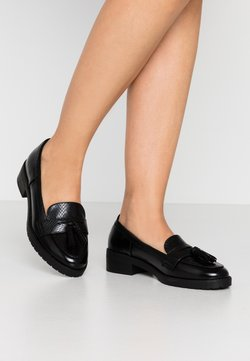 Dorothy Perkins - LITTY LOAFER - Instappers - black