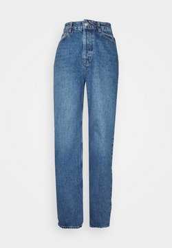Topshop Petite - ZED MOM - Jeans Relaxed Fit - blue