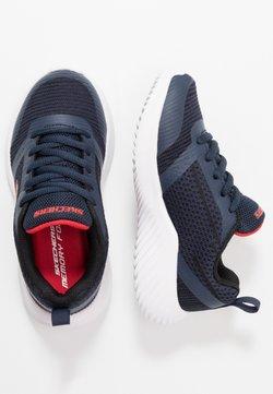 Skechers - BOUNDER - Sneakers laag - navy/black/red