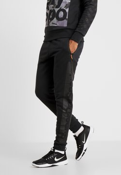 Superdry - COMBAT BOXER JOGGER - Pantalones deportivos - black