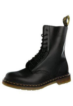 Dr. Martens - ORIGINALS 1490 10 EYE BOOT - Schnürstiefel - black