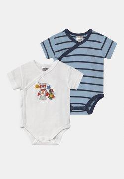 Jacky Baby - KURZARM BOYS 2 PACK - Body - blue/white