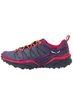 Salewa - DROPLINE GTX - Zapatillas de senderismo - ombre blue/virtual pink
