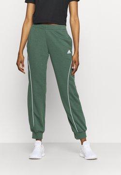 adidas Performance - Jogginghose - green/white