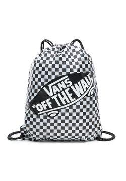 Vans - UA BENCHED - Sporttas - black/white checkerboard
