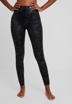 Spanx - Legging - matte black camo