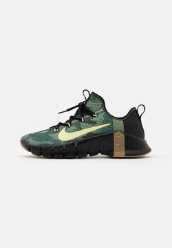 Nike Performance - FREE METCON 3 - Trainings-/Fitnessschuh - black/limelight/spiral sage