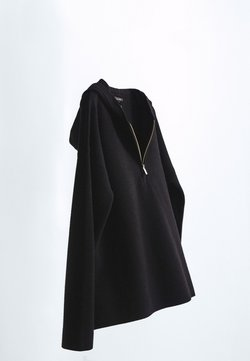 Massimo Dutti - IM - Sweat à capuche - black