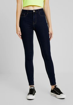 ONLY - ONLFHI MAX LIFE BOX - Jeans Skinny - dark blue denim