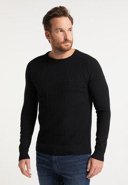 DreiMaster - Stickad tröja - schwarz