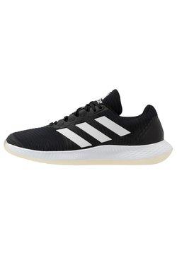adidas Performance - FORCEBOUNCE - Zapatillas de balonmano - core black/footwear white/solar red
