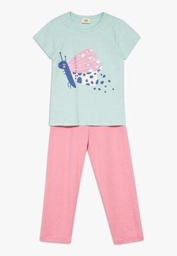 Walkiddy - FUNNY BUTTERFLIES SET - Pyjama - turquoise