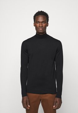 J.LINDEBERG - NEAL TURTLENECK - Strickpullover - black