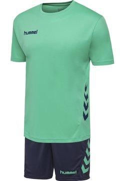 Hummel - DUO SET - Träningsshorts - atlantis/marine