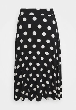 Marks & Spencer London - SKATER SKIRT - Falda acampanada - black