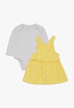 mothercare - BABY SPOT DRESS - Freizeitkleid - yellow