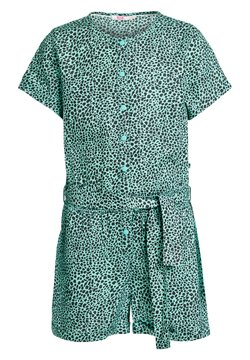 WE Fashion - MET DIERENDESSIN - Overall / Jumpsuit - mint green