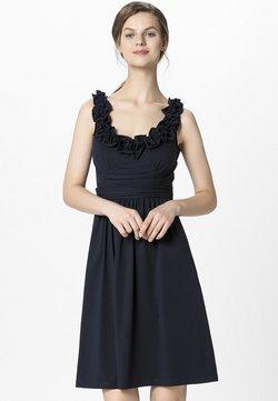Apart - DRESS WITH VOLANTS - Cocktailkleid/festliches Kleid - midnightblue