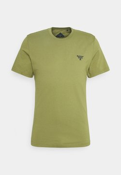 Barbour Beacon - SMALL LOGO TEE - Camiseta básica - military olive