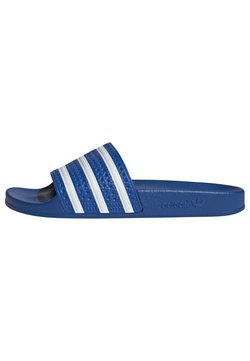 adidas Originals - ADILETTE UNISEX - Sandaler - glory blue/ftwr white/glory blue