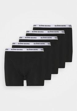 Björn Borg - SAMMY 5 PACK - Panties - black beauty
