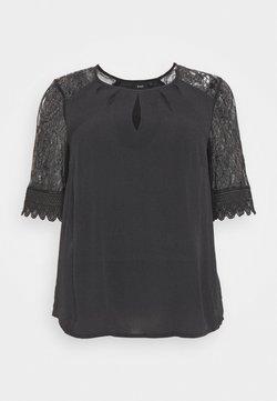 Zizzi - MFALKE BLOUSE - T-Shirt print - black