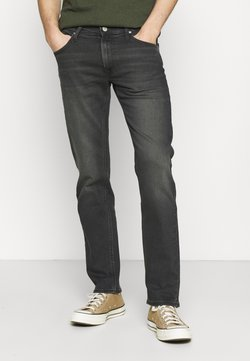 Lee - DAREN ZIP FLY - Straight leg -farkut - grey denim/grey/light grey