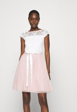 Swing - Cocktailkleid/festliches Kleid - peach blush/ivory