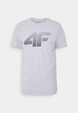 4F - HERREN FLEMMING - Camiseta estampada - grey
