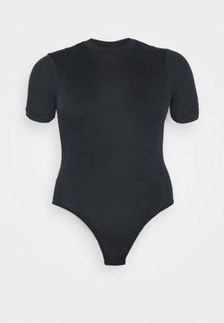Pieces Curve - PCREBOLITA BODYSTOCKING - T-shirt basic - black