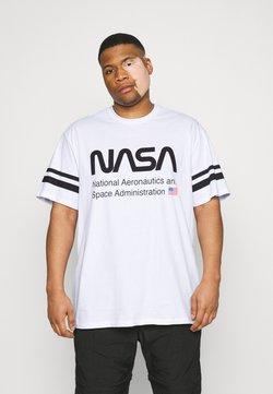 Only & Sons - ONSNASA STRIPE TEE PLUS - T-shirt imprimé - white