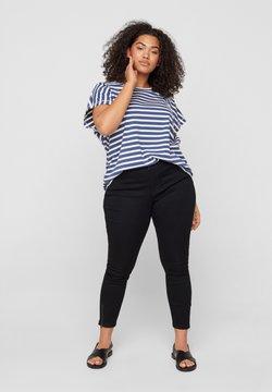 Zizzi - AMY - Jeans Slim Fit - black