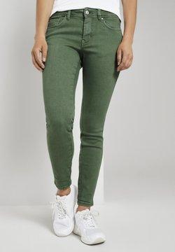 TOM TAILOR DENIM - JONA EXTRA PUSH-UP - Jeans Skinny Fit - vintage green