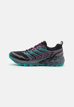 ASICS - GEL-TRABUCO TERRA - Zapatillas de trail running - black/digital grape