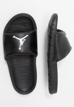 Jordan - BREAK SLIDE - Badslippers - black/white