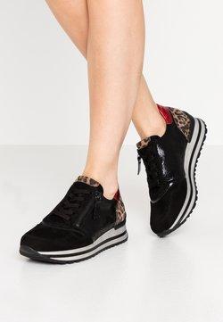 Gabor Comfort - Sneaker low - schwarz/savanne