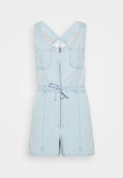 Miss Selfridge - TIE WAIST PLAYSUIT - Salopette - denim