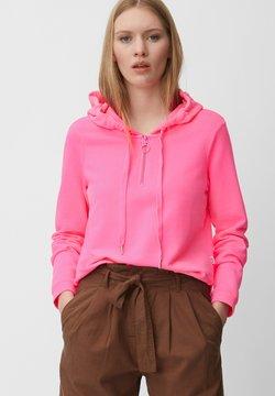Marc O'Polo DENIM - Kapuzenpullover - neon pink