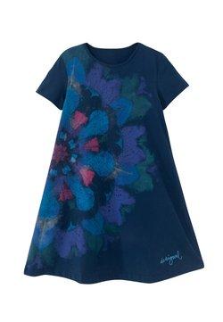 Desigual - Jerseykleid - blue