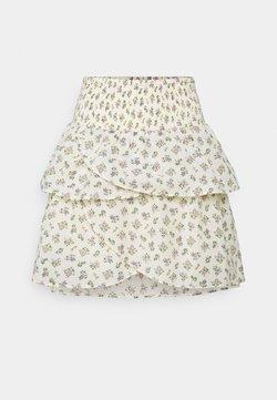 YAS - YASCALA SKIRT - Mini skirts  - eggnog