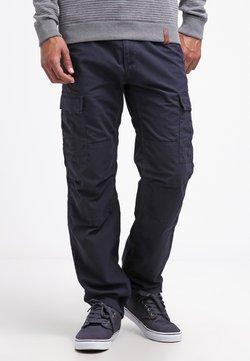 Carhartt WIP - AVIATION PANT COLUMBIA - Cargo trousers - dark navy rinsed